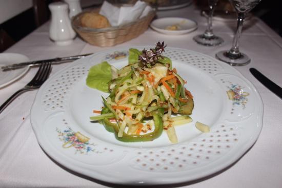 Salad at the Cuban a la carte   Picture of Paradisus Rio de Oro