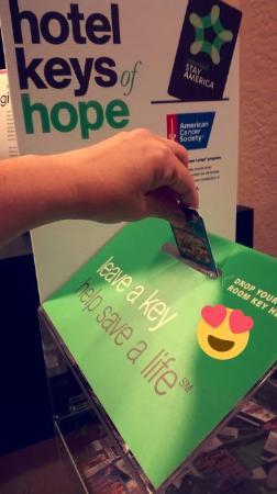 Extended Stay America - Houston - Galleria - Westheimer: Keys of Hope