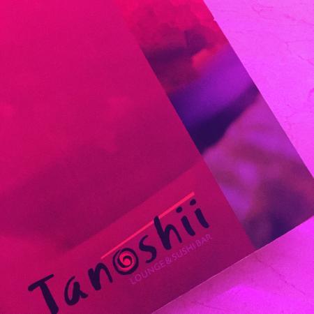 Tanoshii Lounge & Sushi Bar: la carta