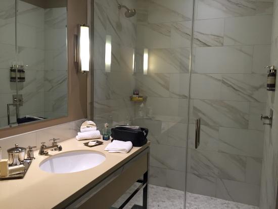 Bathroom Of A Superior Loft Picture Of The Crawford Hotel Denver Tripadvisor