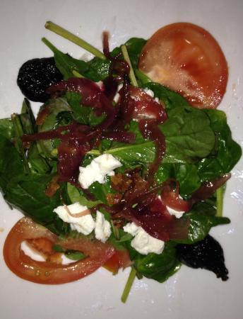 Vintage 423: Spinach Salad (half)