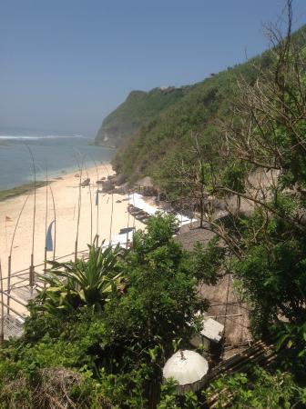 Karma Beach Bali Restaurant: The view