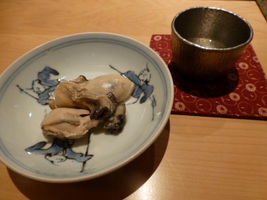 Sushi Aizawa: かき醤油焚き