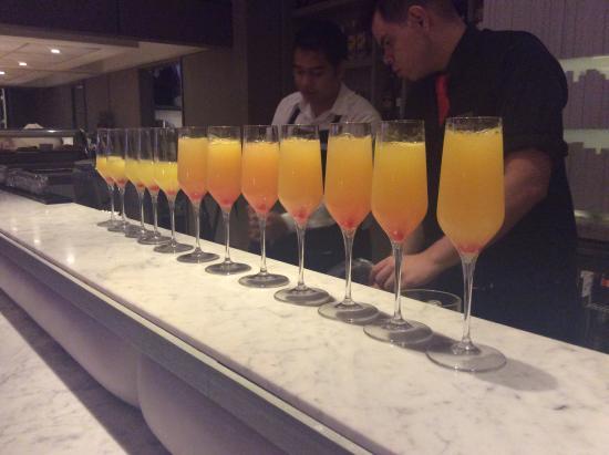 Tanoshii Lounge & Sushi Bar: Mimosa