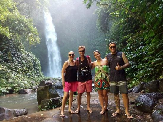 Stunning Bali Tours: the great nung nung waterfall