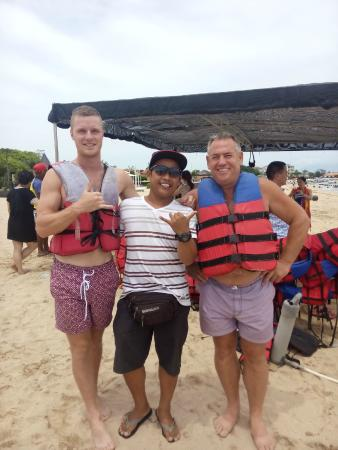 Stunning Bali Tours: watersport centre