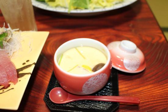 Minshuku Maruki Bekkan: 茶碗蒸し
