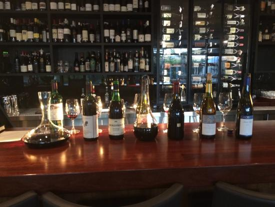 Данкелд, Австралия: The Sommelier selection of wines for the 6 course Degustation