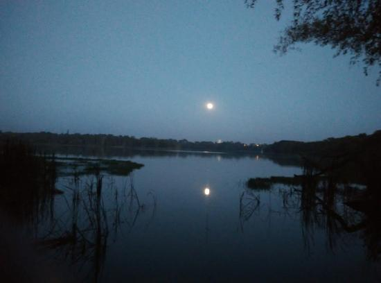 Kukkarahalli Lake: The lake on a full moon evening
