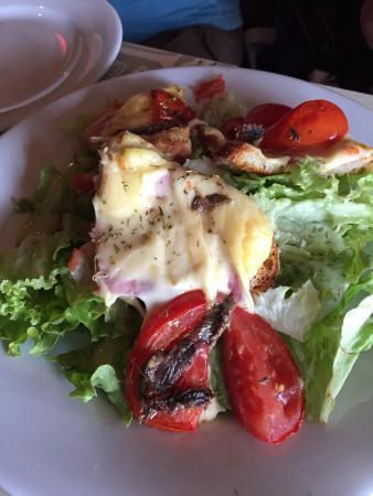 Bistro des Augustins: salad