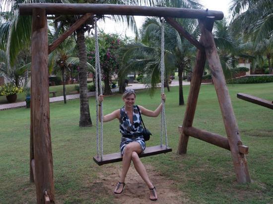 Pandanus Resort: Территория отеля