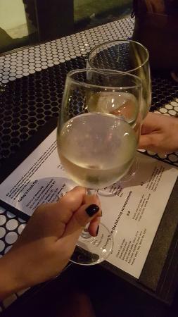 Jellyfish Restaurant: our white wine
