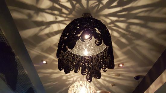Jellyfish Restaurant: indoor light