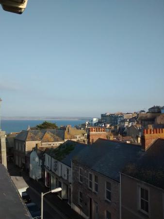 Treliska Guesthouse : Aussicht auf St Ives