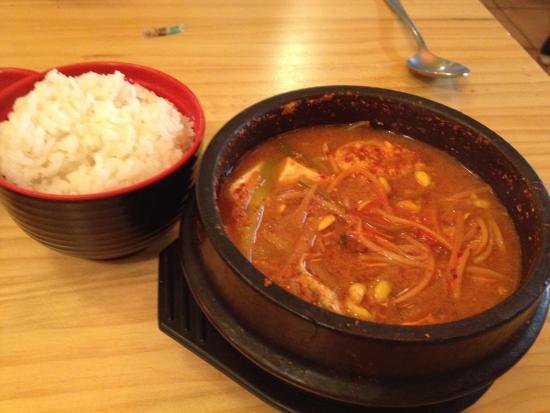 Remuera, Nueva Zelanda: fish roe soup