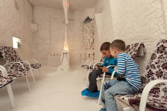 Shahter Sanatorium: Спелеотерапия