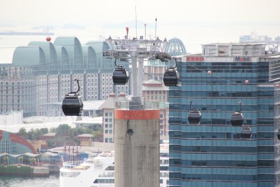Singapore Cable Car (Sentosa): Just an awesome view