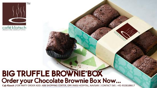 Cafe Klatsch: Brownie Box