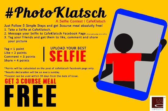 Cafe Klatsch: Photo Klatsch Contest