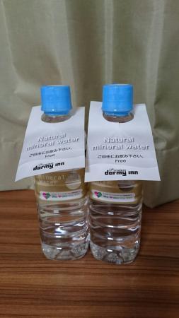 Dormy Inn PREMIUM Sapporo: ドーミーインの無料の水