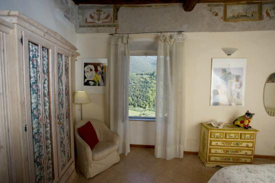 Casperia, Италия: room with a view