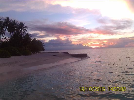 VOI Alimatha Resort: zona tramonto