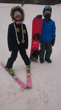 Tiffindell Ski Resort: kids having fun