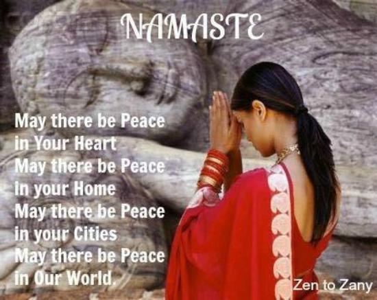 AmAya Spa: Namaste!