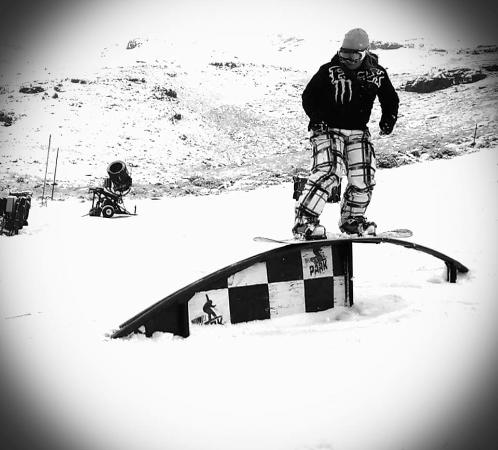 Tiffindell Ski Resort: Snowboard Park