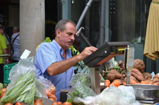 Mercado dos Lavradores: Stimmt die Kasse??