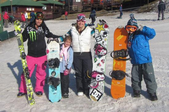 Tiffindell Ski Resort: snow time