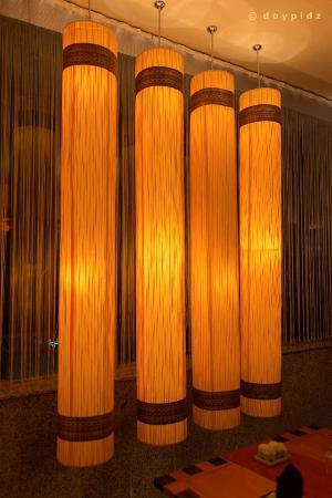 Thai Thai Restaurant: nice lights
