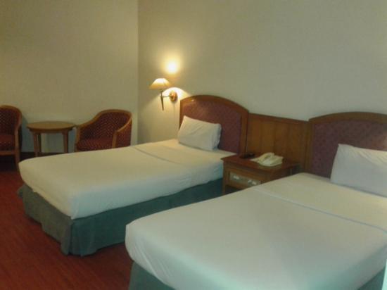 Hotel Sahid Jaya Makassar : kamar twin bed