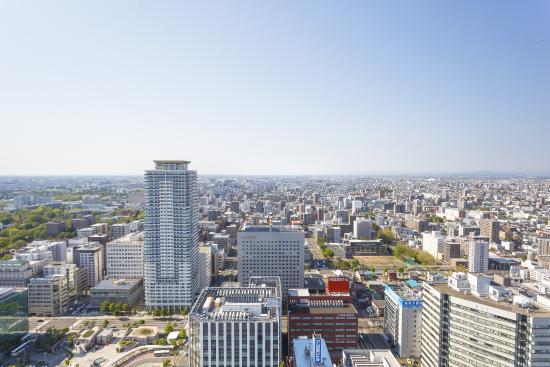 JR Tower Hotel Nikko Sapporo: 北側の眺望