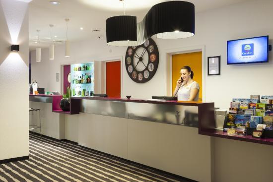 comfort hotel expo colmar frankrig hotel anmeldelser sammenligning af priser tripadvisor. Black Bedroom Furniture Sets. Home Design Ideas