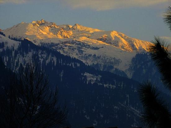 Snowclad view