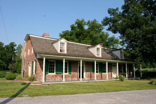 River Edge, NJ: Zabriskie-Steuben House, survived more of the American Revolution than any other home.