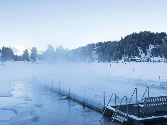 Turracher Hohe, Αυστρία: 365 Tage im warmen See-Bad schwimmen