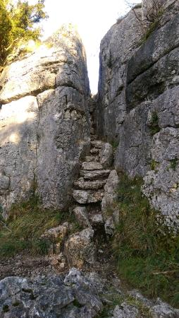 Beetham, UK: The Fairy Steps