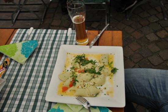 Chiusa, Ιταλία: Обед