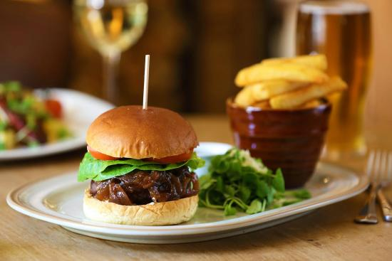 Rolleston on Dove, UK: Our Wagyu Burger