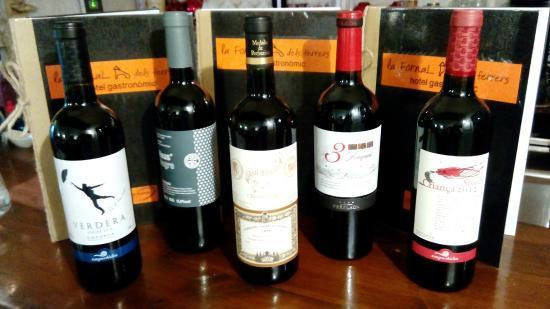 Terrades, Hiszpania: Selección Vinos DO Empordà