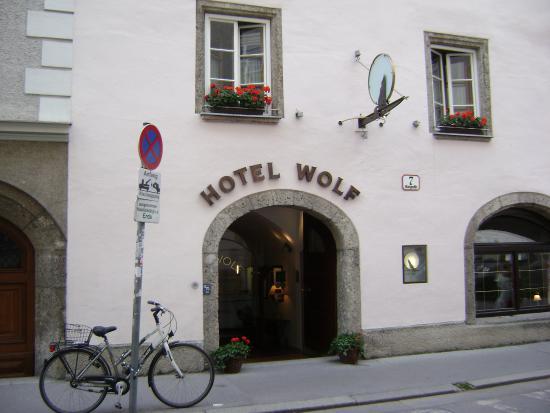 Ingresso Hotel Wolf