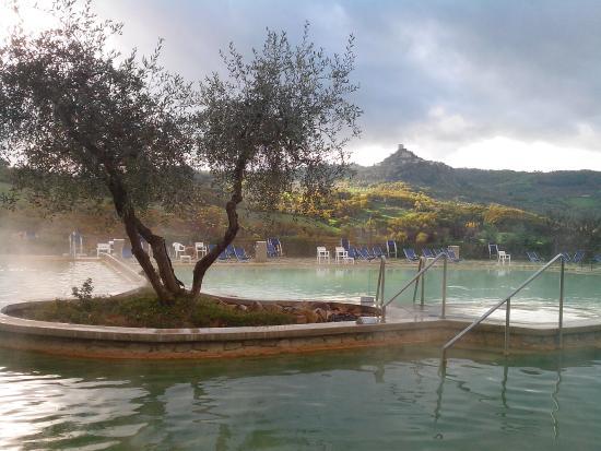 Particolare delle terme foto di albergo posta marcucci bagno vignoni tripadvisor - Hotel posta marcucci bagno vignoni prezzi ...