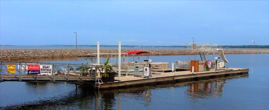 Ridgeland, Mississippi: Dock at the Pelican Grove Grill