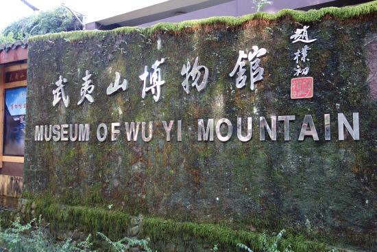 Wuyishan Natural Museum: 入り口横