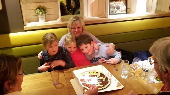 Harvester Monkspath: Happy Birthday GrandMere