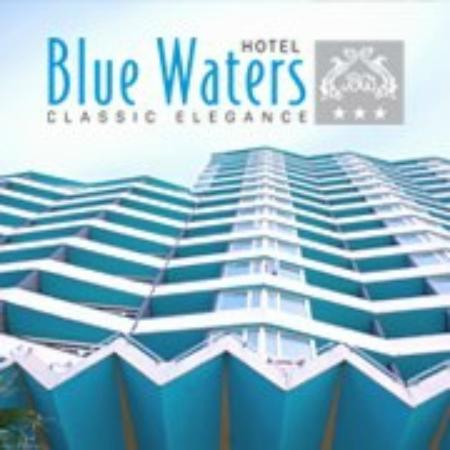 Blue Waters Logo And Exterior Picture Of Blue Waters Hotel Durban
