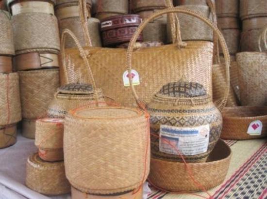 Yasothon, Tailândia: กระติบข้าว