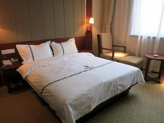 Nanjing Guorui Hotel (Guorui dajiudian): The bedroom
